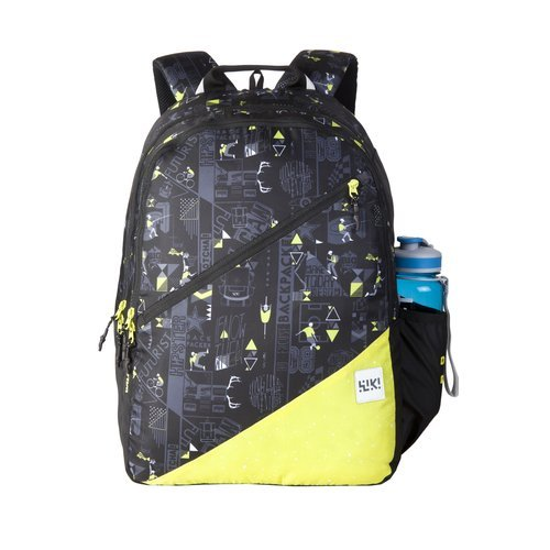 Wildcraft 32 Ltrs Black Casual Backpack