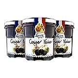 Lucien Georgelin Mermelada Extra Cereza Negra - Pack de 3 x 320 g