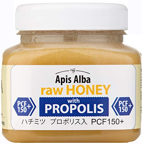 【Amazon.co.jp限定】 はちみつ 蜂蜜 ハチミツ 生 2個組 セット (ラズベリーハニー200g、プロポリスハニー150+ 390g) Raw Honey Set Raspberry 200g & Propolis PCF 150+ 390g