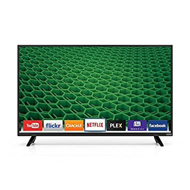 VIZIO D40-D1 D-Series 40  Class 1080p 120Hz Full Array LED Smart TV (Black) (Certified Refurbished)