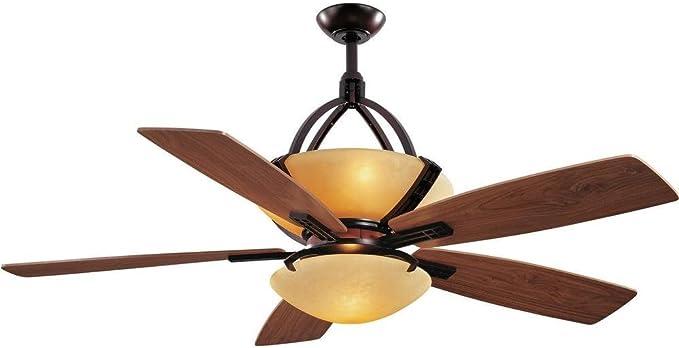 Hampton Bay Miramar 60 In Weathered Bronze Ceiling Fan Amazon Com