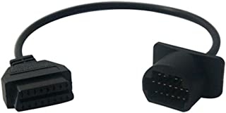 Adaptador Conector Diagnóstico cable para Mazda 17 pin a 16 pin obd 2 Diagnosis cable