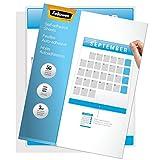Fellowes 5221502 Self-Laminating Sheets, 3mil, 12 x 9 1/4 (Box of 50)