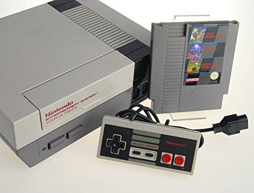 Nintendo NES Konsole mit Mario/Tetris/Worldcup