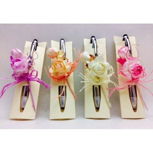 Bolígrafos GRABADOS para invitados a boda, bautizo o comunión (pack de 15 unidades)