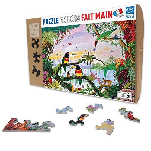 Puzzle Michele Wilson - Puzzle 100 Pièces LA Jungle - Multicolore