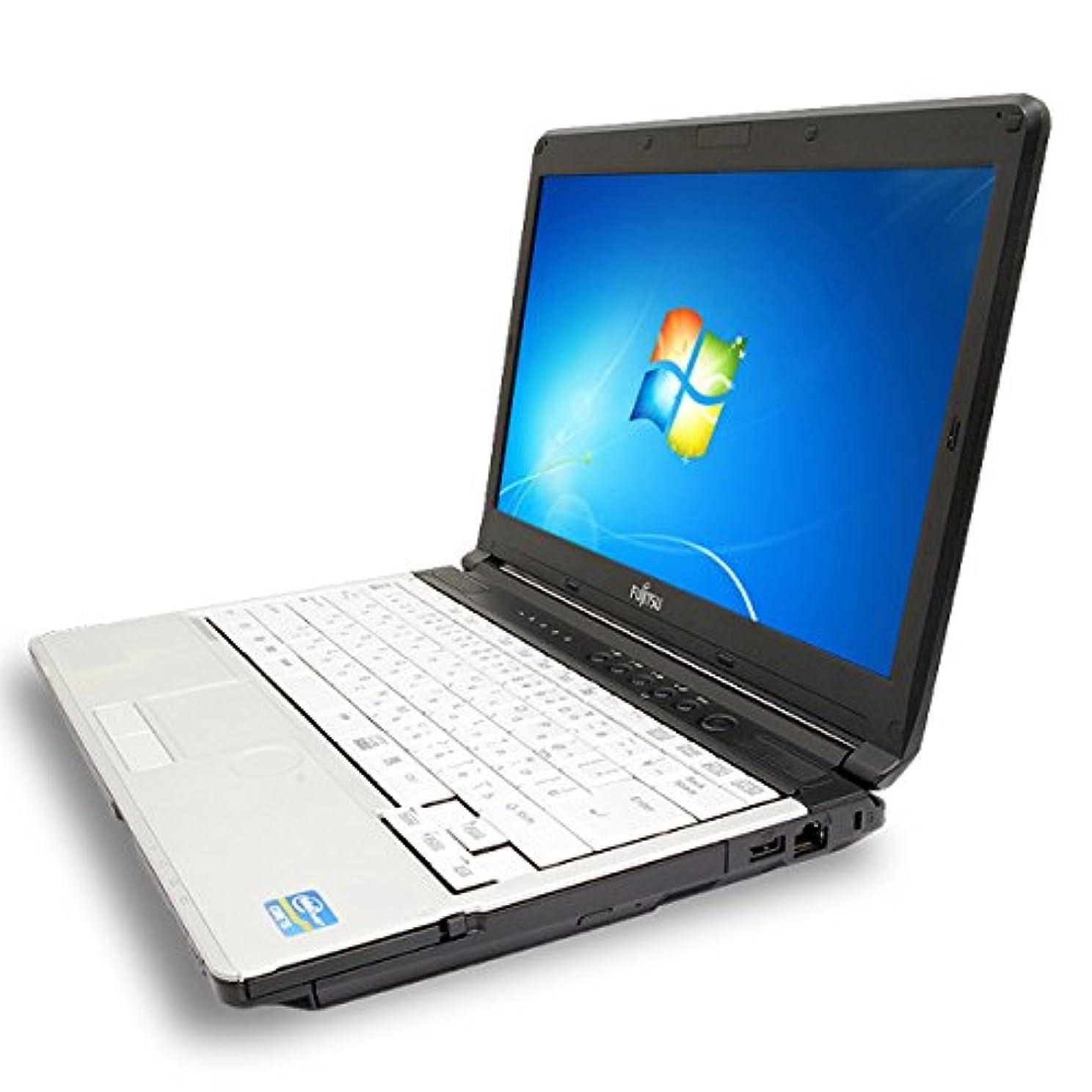 創造あえぎ時系列ノートパソコン 中古 富士通 LIFEBOOK S761/D Core i5 4GBメモリ 13.3インチワイド DVDマルチドライブ Windows7 MicrosoftOffice2003