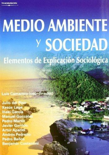 Medio ambiente y sociedad. Elementos de explicación sociológica (Estadística)