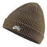 Nike SB Fisherman Cap Gorro, Unisex Adulto, Medium Olive/White, Talla nica
