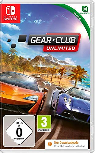 Gear Club Unlimited - Nintendo Switch - Code in the Box (Kein Datenträger)