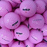 Second Chance 24 Pelotas de Golf Unisex, Color Rosa