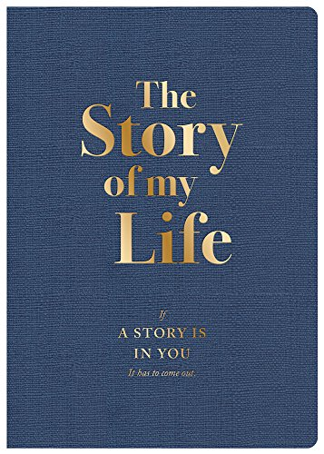 Piccadilly Story of My Life Journal | Personal DIY Memoir | Guided Autobiography Notebook | 204 pages