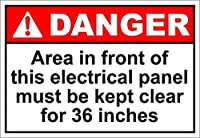 複製金属錫サインインチ、ES危険サインのためにクリアに保たれなければならない、材料鉄の絵画錫サインカフェバーパブホームビール装飾工芸品のためのヴィンテージの壁の装飾