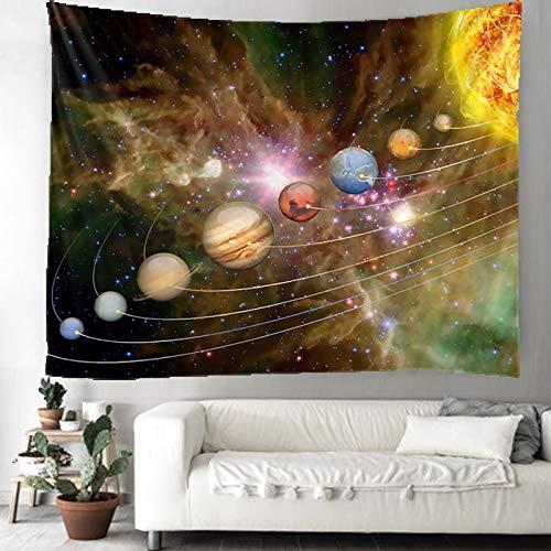 WERT Estrellas a tu Alcance Tapiz de Mandala Indio Tapiz de Tela de Fondo de Encaje Decorativo Bohemio de Pared A2 180x200cm