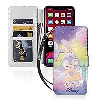ステラルー ディズニー iphone11ケース 手帳型ケース 高質合成皮革 内蔵マグネット きれいめ 横置きスタンド機能 損傷を防ぐ 内部カードパック