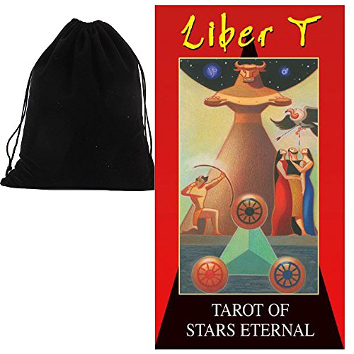 Shop4top Liber T Tarot of Stars Eternal Karten Deck Und Beutel