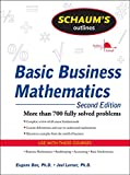 Schaum's Outline of Basic Business Mathematics, 2ed (Schaum's Outlines)