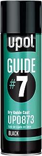 U-POL 0873 Guide#7 Dry Guide Coat, Black, 450 ml Aerosol