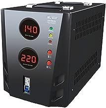Regvolt 3000 Watt Deluxe Automatic Voltage Converter Transformer – Step Up & Down Function with Circuit Breaker Protection (ATVR-3000 Deluxe Voltage Regulator)