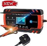 KYH 12V / 24V 8Amp Cargador De Batería Inteligente Automático / 3 Se Encarga del Mantenimiento De Carga De La Etapa Y Tiene Pantalla LCD 6 Tiene Un Modo De Carga Más Adecuado para El Tipo De Batería