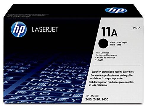 HP Q6511A 11A Cartucho de Tóner Original, 1 unidad, negro