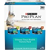 Purina Pro Plan Urinary Tract Health Wet Cat Food Variety Pack, FOCUS Urinary Tract Health Formula - (36) 3 oz. Cans