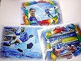 3 tolle Kunstdrucke mit Schalke Stars