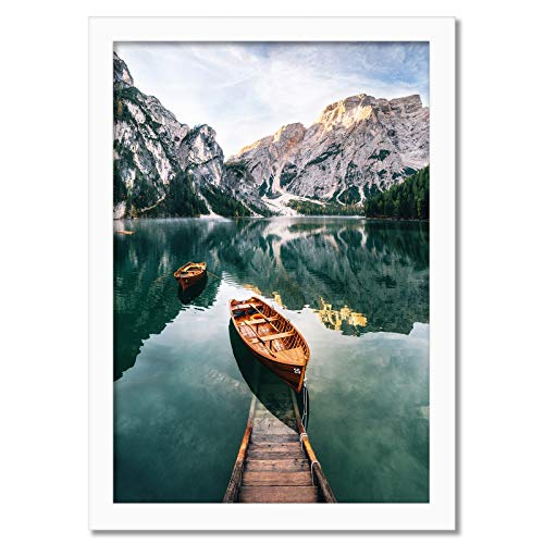 Americanflat Poster Frame in Whi...