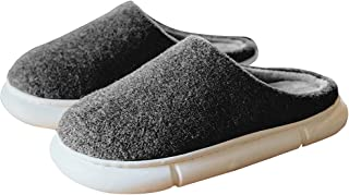 Womens Pillow Slippers Warm Platform House Slippers for...
