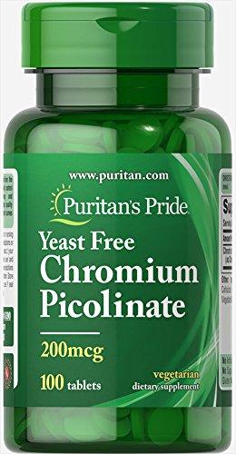 Picolinato De Cromo marca Puritan's Pride