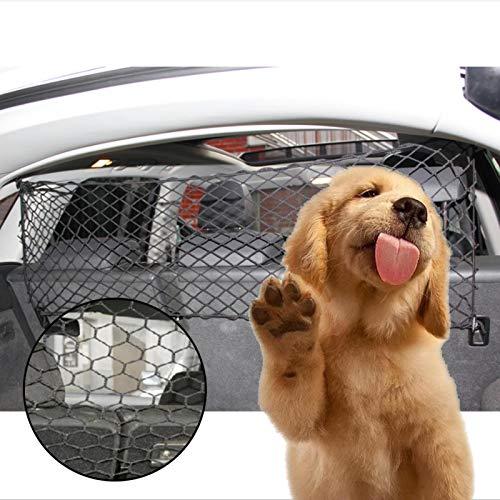 Auto Schutzgitter Kofferraum Trenngitter Für Hunde Auto Hundegitter Hundeschutzgitter Für Den Kofferraum Verstellbar Hundeschutznetz Netze Gitter Hundeschutzgitter Haustier Sicherheits Schutz Netz