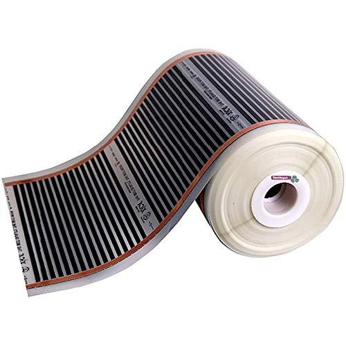Calefactores de Piso Infrarrojos, HeatFilm, MXHFM-003, 0.5x30, 15m², 240W, 220V/1F/60Hz, Infrarrojo.