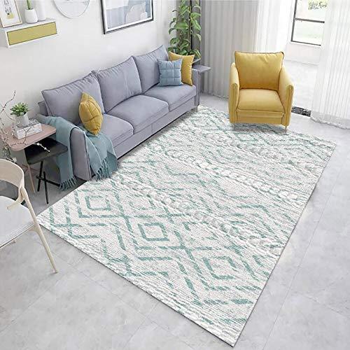 Europäischer Moderner Minimalistischer Rechteckiger Teppich Couchtischsofa Mit Teppichboden rutschfeste Bedruckte Fußmatten Wohnzimmer Schlafzimmer Hotel Bed & Breakfast Teppich
