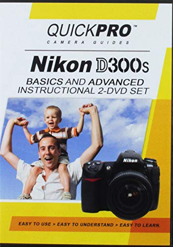 Nikon D300s 2 DVD Set by QuickPro Camera Guides