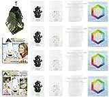 Hamoni® Wasserset Ultra: Thermisch Aktivierter Edelschungit für selbstgemachtes...