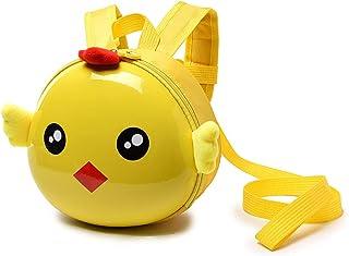 Kids Bags Girls Cute Small Backpack, Cartoon Animal Kindergarten Schoolbag, PU Leather Mini Backpack with Safety Leash, Fa...