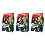 Philips Senseo 108 x Cafe Rene Crem? Espresso Roast Coffee Pads Pods Bag