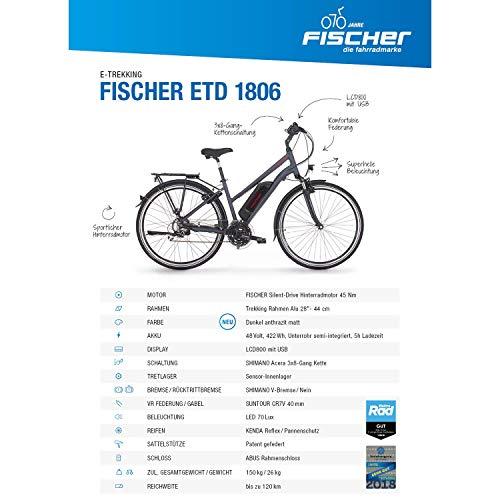 Trekking E-Bike FISCHER Damen  ETD 1806 2019 Bild 2*