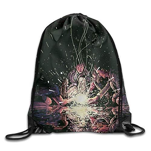 Etryrt Mochilas/Bolsas de Gimnasia,Bolsas de Cuerdas, Friendship Gym Drawstring Backpack Unisex Portable Sack Bags