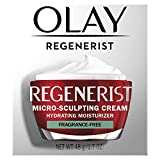 Olay Regenerist Cream, Fragrance Free, 1.7 Ounce
