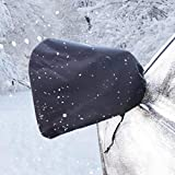 VaygWay Car Side Mirror Covers- 2 Snow/Ice Mirror Protection- Rain Guard Universal Auto Covers-Anti Bird Poop and Theft