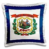 3dRose Flag of West Virginia WV-US American...