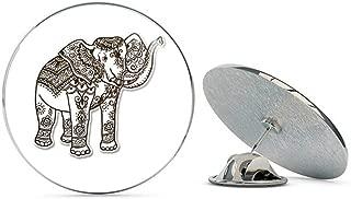 BRK Studio Elephant Henna Brown Round Metal 0.75
