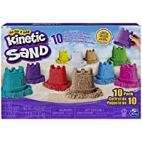 Kinetic Sand KNS RFL SglCntnr 10PK CB ECMX GML, 6052995, Multicolor