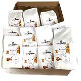 Caja degustación de harinas especiales. Una selección de 12 paquetes de harina molida de piedra, en un paquete elegante. Idea de regalo. Casafolino