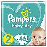 Pampers Baby-Dry Größe2, 46Windel