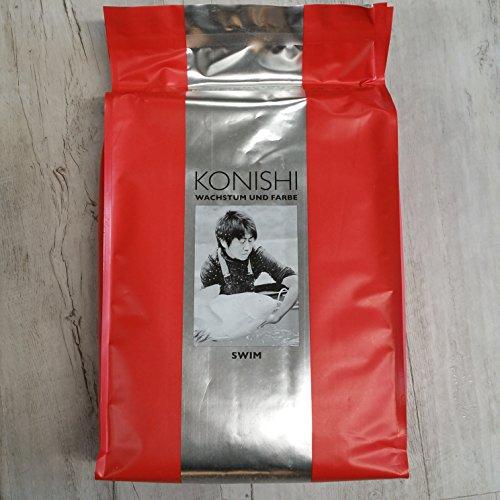 Konishi Wachstum und Farbe (12,2€/kg) Neu Koi Futter Teich Koifutter Fisch Spitzenqualität 5 kg