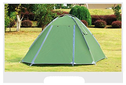 HONEYY 3-4 Personnes sur Double Compte automatiquement Respirante jeté Tente de Camping 200×200 Outdoor Products×h135cm