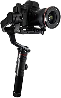 FeiyuTech AK4000 Camera Stabilizer 3-Axis Handheld Gimbal Fits Canon/Nikon/Sony/Panasonic DSLR Camera,Max Payload 4.0KG with Follow Focus II