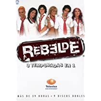 Rebelde: Serie Completa [DVD] [Import]